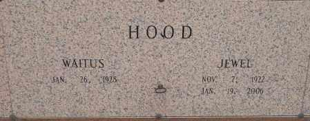 HOOD, JEWELL - Pulaski County, Arkansas   JEWELL HOOD - Arkansas Gravestone Photos