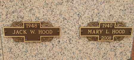 HOOD, MARY L - Pulaski County, Arkansas   MARY L HOOD - Arkansas Gravestone Photos