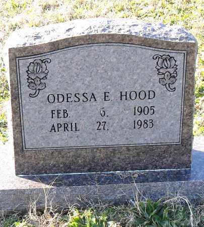 HOOD, ODESSA E. - Pulaski County, Arkansas | ODESSA E. HOOD - Arkansas Gravestone Photos