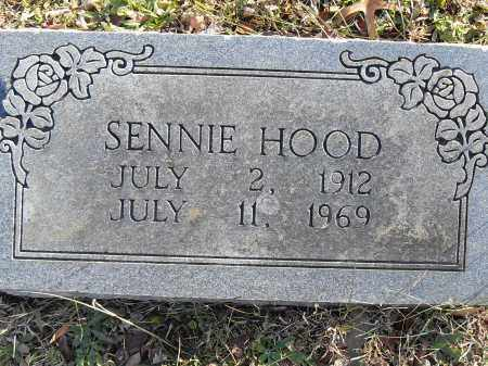 HOOD, SENNIE - Pulaski County, Arkansas | SENNIE HOOD - Arkansas Gravestone Photos
