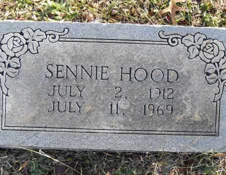 HOOD, SENNIE - Pulaski County, Arkansas   SENNIE HOOD - Arkansas Gravestone Photos