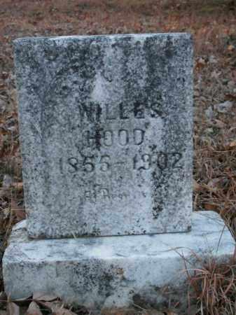 HOOD, WILLES - Pulaski County, Arkansas   WILLES HOOD - Arkansas Gravestone Photos
