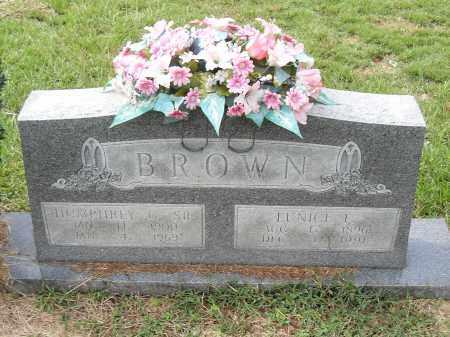 BROWN, EUNICE F. - Pulaski County, Arkansas | EUNICE F. BROWN - Arkansas Gravestone Photos