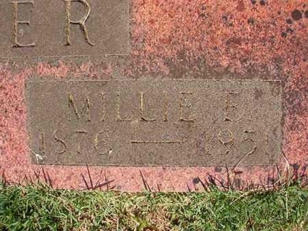 HUNTER, MILLIE E (CLOSE UP) - Pulaski County, Arkansas | MILLIE E (CLOSE UP) HUNTER - Arkansas Gravestone Photos