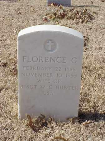 HUNTER, FLORENCE G - Pulaski County, Arkansas   FLORENCE G HUNTER - Arkansas Gravestone Photos