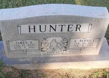 HUNTER, JAMES K - Pulaski County, Arkansas | JAMES K HUNTER - Arkansas Gravestone Photos