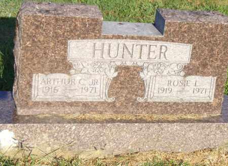 HUNTER, ROSIE L - Pulaski County, Arkansas   ROSIE L HUNTER - Arkansas Gravestone Photos