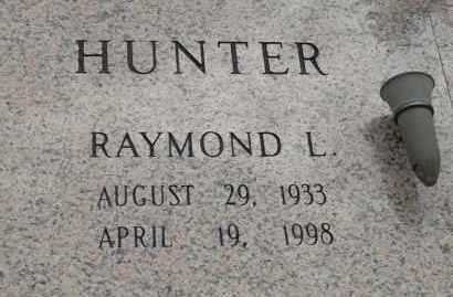 HUNTER, RAYMOND L - Pulaski County, Arkansas | RAYMOND L HUNTER - Arkansas Gravestone Photos