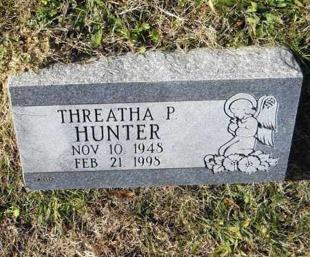 HUNTER, THREATHA P. - Pulaski County, Arkansas | THREATHA P. HUNTER - Arkansas Gravestone Photos