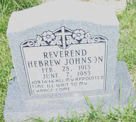 JOHNSON, HEBREW, REVEREND - Pulaski County, Arkansas | HEBREW, REVEREND JOHNSON - Arkansas Gravestone Photos