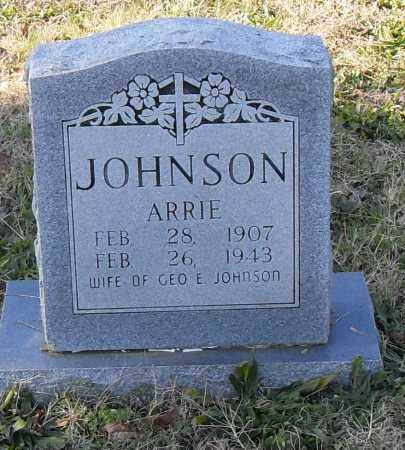 JOHNSON, ARRIE - Pulaski County, Arkansas | ARRIE JOHNSON - Arkansas Gravestone Photos