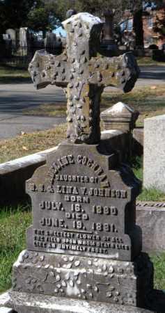 JOHNSON, ADELINE COCHRAN (CLOSE UP) - Pulaski County, Arkansas   ADELINE COCHRAN (CLOSE UP) JOHNSON - Arkansas Gravestone Photos