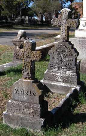 JOHNSON, ADELINE COCHRAN (FULL VIEW) - Pulaski County, Arkansas   ADELINE COCHRAN (FULL VIEW) JOHNSON - Arkansas Gravestone Photos