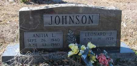 JOHNSON, ANITA L - Pulaski County, Arkansas | ANITA L JOHNSON - Arkansas Gravestone Photos