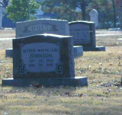 "JOHNSON, ALFRED WAYNE ""A W"" - Pulaski County, Arkansas | ALFRED WAYNE ""A W"" JOHNSON - Arkansas Gravestone Photos"