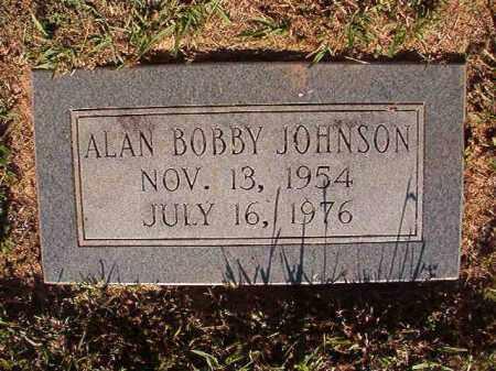 JOHNSON, ALAN BOBBY - Pulaski County, Arkansas | ALAN BOBBY JOHNSON - Arkansas Gravestone Photos