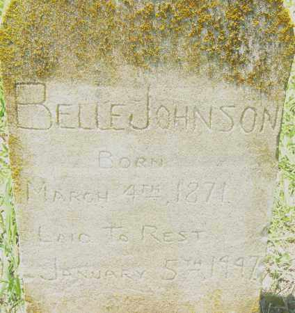 JOHNSON, BELLE - Pulaski County, Arkansas | BELLE JOHNSON - Arkansas Gravestone Photos