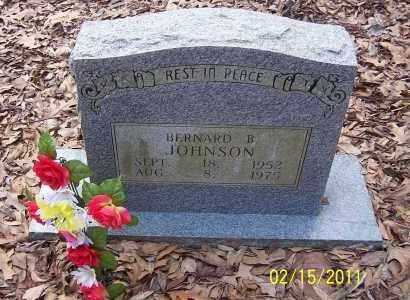 JOHNSON, BERNARD B - Pulaski County, Arkansas | BERNARD B JOHNSON - Arkansas Gravestone Photos