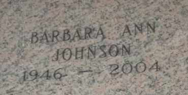 JOHNSON, BARBARA ANN - Pulaski County, Arkansas | BARBARA ANN JOHNSON - Arkansas Gravestone Photos