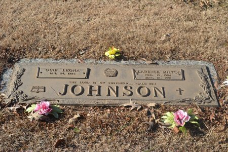 JOHNSON, OCIE LEONA - Pulaski County, Arkansas | OCIE LEONA JOHNSON - Arkansas Gravestone Photos