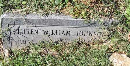 JOHNSON, CLUREN WILLIAM - Pulaski County, Arkansas   CLUREN WILLIAM JOHNSON - Arkansas Gravestone Photos