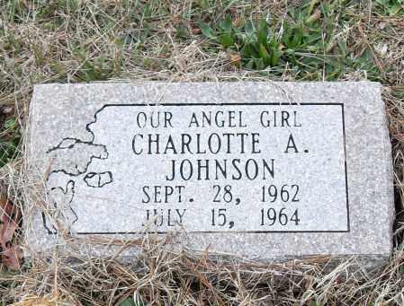 JOHNSON, CHARLOTTE A. - Pulaski County, Arkansas | CHARLOTTE A. JOHNSON - Arkansas Gravestone Photos