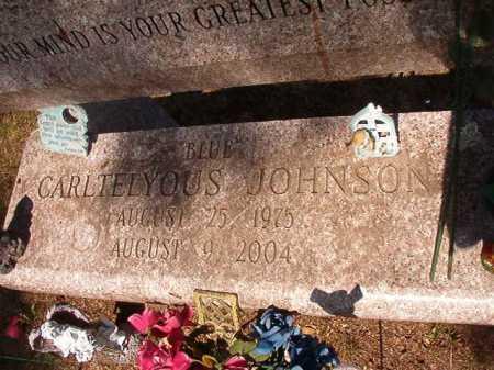 "JOHNSON, CARTELYOUS ""BLUE"" (CLOSE UP) - Pulaski County, Arkansas | CARTELYOUS ""BLUE"" (CLOSE UP) JOHNSON - Arkansas Gravestone Photos"