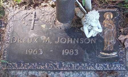 JOHNSON, DREUX M. - Pulaski County, Arkansas   DREUX M. JOHNSON - Arkansas Gravestone Photos