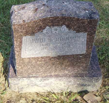 JOHNSON, DAVID H. - Pulaski County, Arkansas | DAVID H. JOHNSON - Arkansas Gravestone Photos