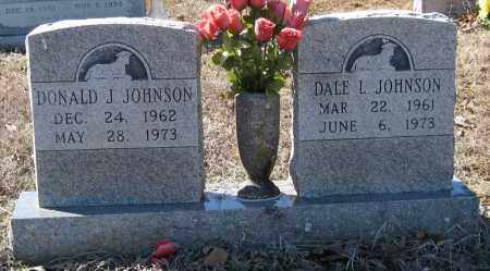 JOHNSON, DALE L - Pulaski County, Arkansas | DALE L JOHNSON - Arkansas Gravestone Photos