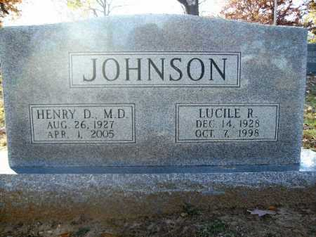 JOHNSON, LUCILE R - Pulaski County, Arkansas | LUCILE R JOHNSON - Arkansas Gravestone Photos