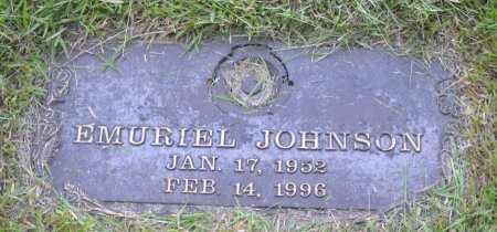 JOHNSON, EMURIEL - Pulaski County, Arkansas | EMURIEL JOHNSON - Arkansas Gravestone Photos