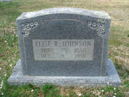 JOHNSON, ELISE R - Pulaski County, Arkansas | ELISE R JOHNSON - Arkansas Gravestone Photos