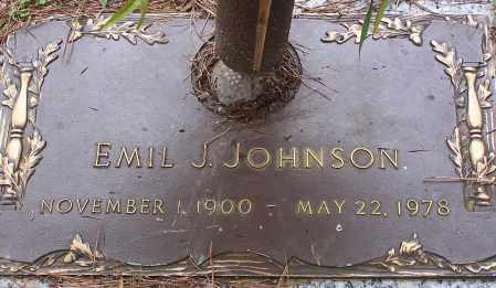 JOHNSON, EMIL J - Pulaski County, Arkansas   EMIL J JOHNSON - Arkansas Gravestone Photos