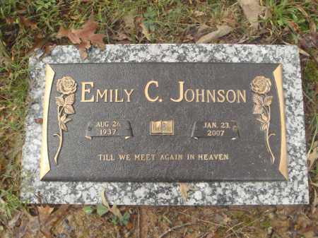 JOHNSON, EMILY CAROL - Pulaski County, Arkansas | EMILY CAROL JOHNSON - Arkansas Gravestone Photos