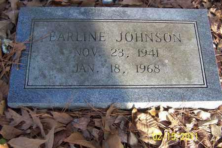 JOHNSON, EARLINE - Pulaski County, Arkansas | EARLINE JOHNSON - Arkansas Gravestone Photos