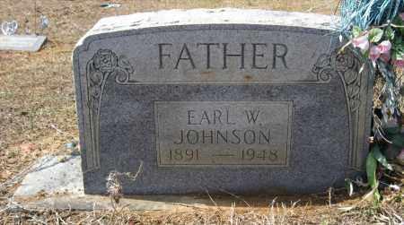 JOHNSON, EARL W - Pulaski County, Arkansas | EARL W JOHNSON - Arkansas Gravestone Photos