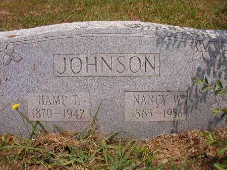 JOHNSON, NANCY W - Pulaski County, Arkansas | NANCY W JOHNSON - Arkansas Gravestone Photos
