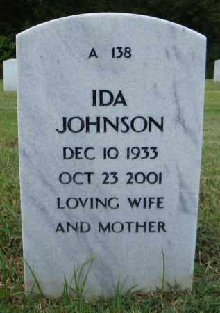 JOHNSON, IDA - Pulaski County, Arkansas | IDA JOHNSON - Arkansas Gravestone Photos