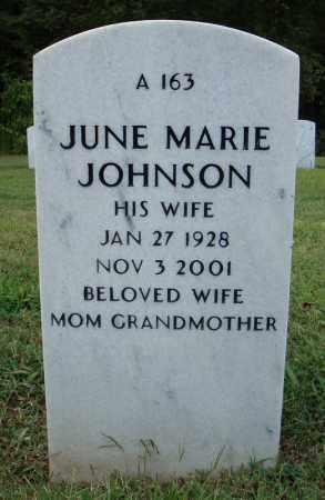 JOHNSON, JUNE MARIE - Pulaski County, Arkansas | JUNE MARIE JOHNSON - Arkansas Gravestone Photos