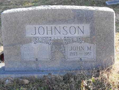 JOHNSON, CARRIE - Pulaski County, Arkansas | CARRIE JOHNSON - Arkansas Gravestone Photos