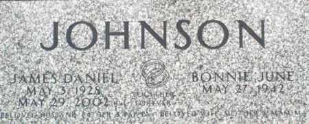 JOHNSON, JAMES DANIEL - Pulaski County, Arkansas | JAMES DANIEL JOHNSON - Arkansas Gravestone Photos