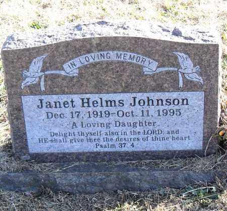 JOHNSON, JANET - Pulaski County, Arkansas | JANET JOHNSON - Arkansas Gravestone Photos