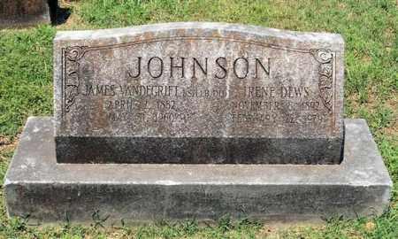 JOHNSON, JAMES VANDEGRIFT - Pulaski County, Arkansas | JAMES VANDEGRIFT JOHNSON - Arkansas Gravestone Photos