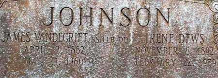 JOHNSON, IRENE (CLOSE UP) - Pulaski County, Arkansas | IRENE (CLOSE UP) JOHNSON - Arkansas Gravestone Photos