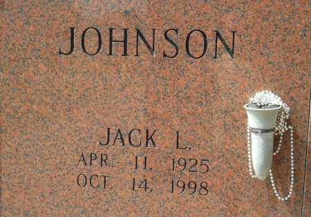 JOHNSON, JACK L - Pulaski County, Arkansas | JACK L JOHNSON - Arkansas Gravestone Photos