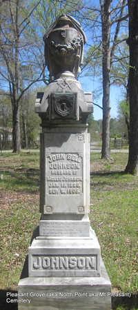 JOHNSON, JOHN BELL - Pulaski County, Arkansas | JOHN BELL JOHNSON - Arkansas Gravestone Photos