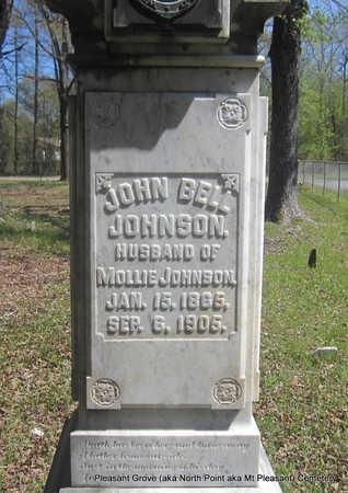 JOHNSON, JOHN BELL (CLOSEUP) - Pulaski County, Arkansas | JOHN BELL (CLOSEUP) JOHNSON - Arkansas Gravestone Photos