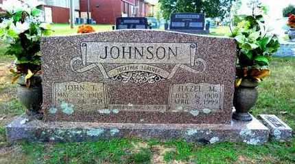 JOHNSON, JOHN T - Pulaski County, Arkansas | JOHN T JOHNSON - Arkansas Gravestone Photos