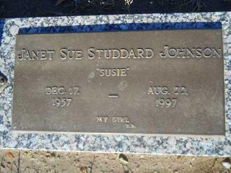 "JOHNSON, JANET SUE ""SUSIE"" - Pulaski County, Arkansas   JANET SUE ""SUSIE"" JOHNSON - Arkansas Gravestone Photos"